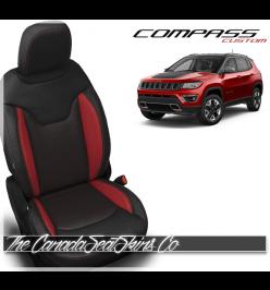 2017 - 2019 Jeep Compass Custom Katzkin Leather Seats
