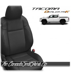 2016 - 2021 Toyota Tacoma Katzkin Black Leather Seat Sale