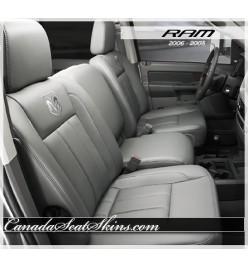 2006 - 2008 Dodge Ram Katzkin Leather Seats