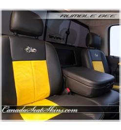 Dodge Ram Rumble Bee Leather Seats