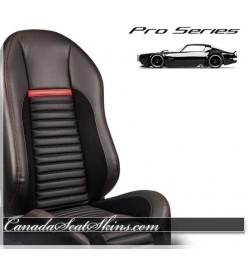 Pro Series Shelby Style Race Bucket Seats Black