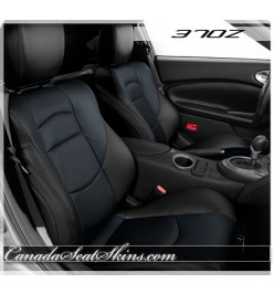 2009 - 2017 Nissan 370Z Black with Blue Leather Seats