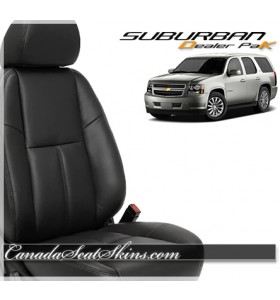 2007 - 2014 Chevrolet Suburban Leather Seats