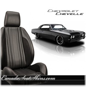 Chevrolet Chevelle Pro Series Low Back Bucket Seats