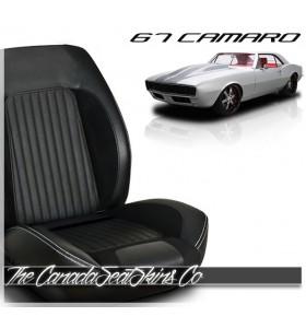 1967 Camaro Sport R Bolstered Bucket Seats