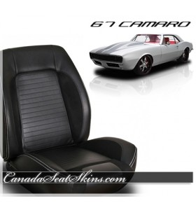 1967 Camaro Sport R Bolstered Bucket Seats