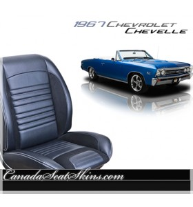 1967 Chevelle Sport R Restomod Seats