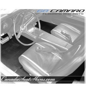 1968 Camaro Custom Carpet and Floor Mats