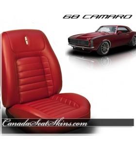 1968 Camaro Deluxe Upholstery Sport Bolstered