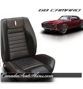 1968 Camaro Sport R Deluxe Restomod Seats