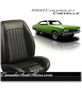 1968 Chevelle Sport R Restomod Seats
