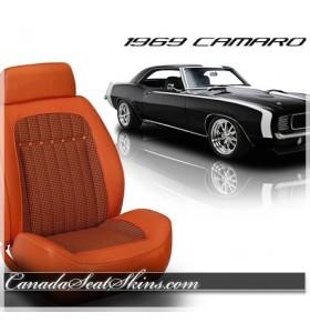 1969 Camaro Sport Bolstered Houndstooth Deluxe Upholstery Kit