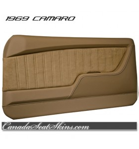 1969 Camaro Restomod Saddle Door Panel Kit