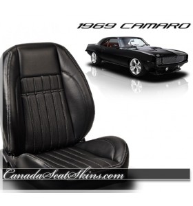 1969 Camaro Sport Deluxe Bucket Seat Conversion