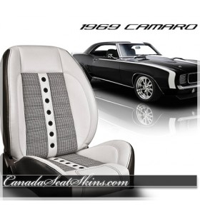 1969 Chevrolet Camaro Houndstooth Custom Seats