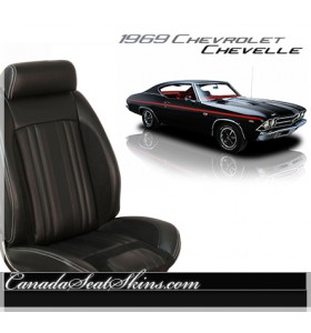 1969 Chevelle Sport R Restomod Seats