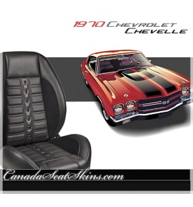 1970 Chevelle Sport XR Restomod Seats