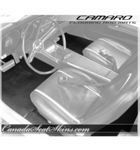 1971 - 1981 Chevrolet Camaro Custom Carpet and Floor Mats