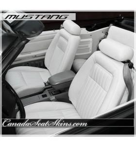 1987 - 1992 Ford Mustang Katzkin Leather Seats