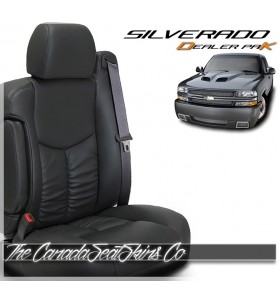 2003 - 2006 Chevrolet Silverado Replacement Leather Seat Upholstery Kit