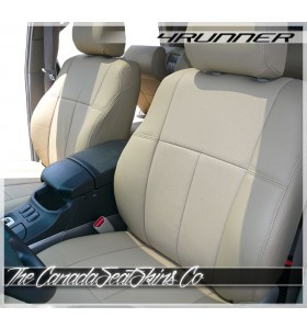 2010 - 2021 Toyota 4Runner Perfect Fit Clazzio Seat Covers