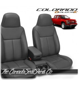 2004 - 2012 Chevrolet Colorado Dealer Pak Replacement Leather Seat Cover Kit