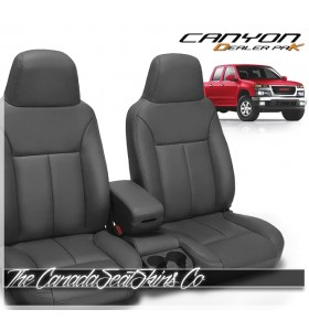 2004 - 2012 GMC Canyon Dealer Pak Replacement Leather Seat Cover Kit