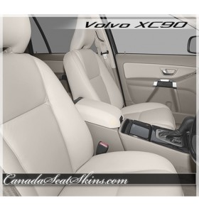 2004 - 2010 Volvo XC90 Katzkin Leather Upholstery