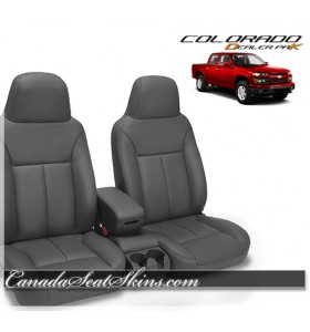 2004 - 2010 Chevrolet Colorado Dealer Pak Leather Seat Kit