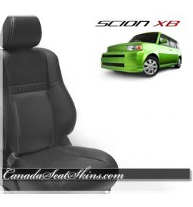 2005 - 2007 Scion XB Black Leather Seats