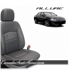 2005 - 2009 Buick Allure Katzkin Charcoal Custom Leather Seats