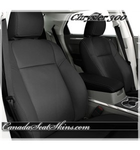 2005 - 2010 Chrysler 300 Black Katzkin Leather Seats
