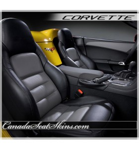 2005 - 2011 Chevrolet Corvette Katzkin Leather Seats