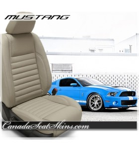 2005 - 2014 Ford Mustang Katzkin Custom Leather Seats