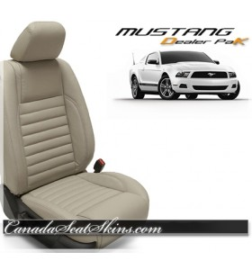 2005 - 2014 Ford Mustang Leather Seat Upholstery Promotion