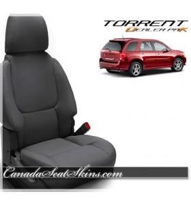 2007 - 2009 Pontiac Torrent Black Wholesale Leather Seats