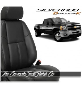 2007 - 2014 Chevrolet Silverado Replacement Leather Seat Cover Kit Promotion