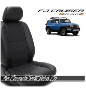 2007 - 2014 Toyota FJ Cruiser Replacement Leather Seat Cover Kit