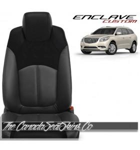 2007 - 2017 Buick Enclave Custom Katzkin Replacement Leather Seat Cover Sale