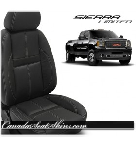 2007 - 2013 GMC Sierra Katzkin Black Carbon Limited Edition Interior