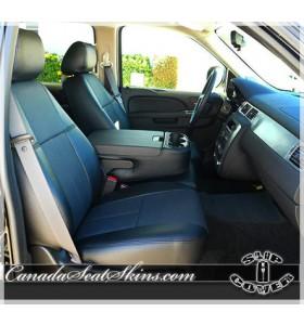 2007 - 2013 GMC Sierra Clazzio Stealcraft Seat Covers