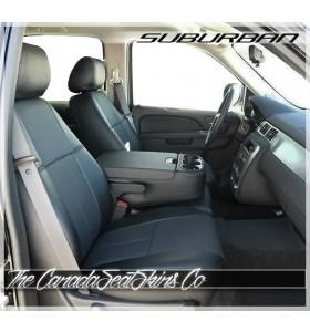 2007 - 2014 Chevrolet Suburban Commercial Grade Fleet Series Seat Covers