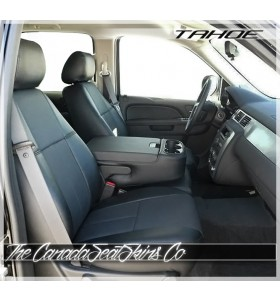 2007 - 2014 Chevrolet Tahoe Clazzio Fitted Premium Seat Covers Black
