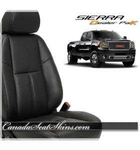 2007 - 2013 GMC Sierra Leather Seat Cover Upholstery Kit