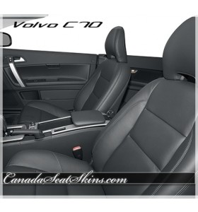 2008 - 2009 Volvo C70 Katzkin Leather Seats