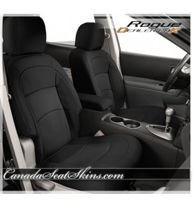 Nissan Rogue Black Leather Seats