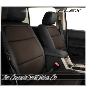 2009 - 2012 Ford Flex Katzkin Black Coffee Custom Leather Seat Sale