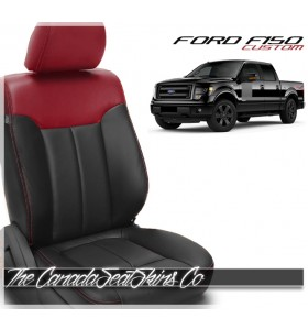 2012 - 2014 Ford F150 XLT FX4 Custom Leather Seats