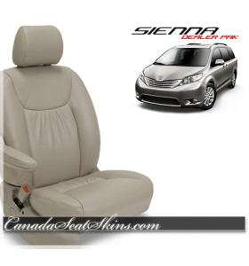 2009 - 2014 Toyota Sienna Leather Seat Covers