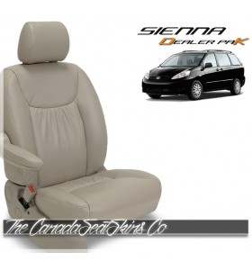 2009 - 2014 Toyota Sienna Dealer Pak Leather Seat Cover Sale